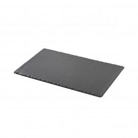 Plateau rectangulaire GM - Noir brut