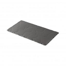 rectangular plate - matt sate style