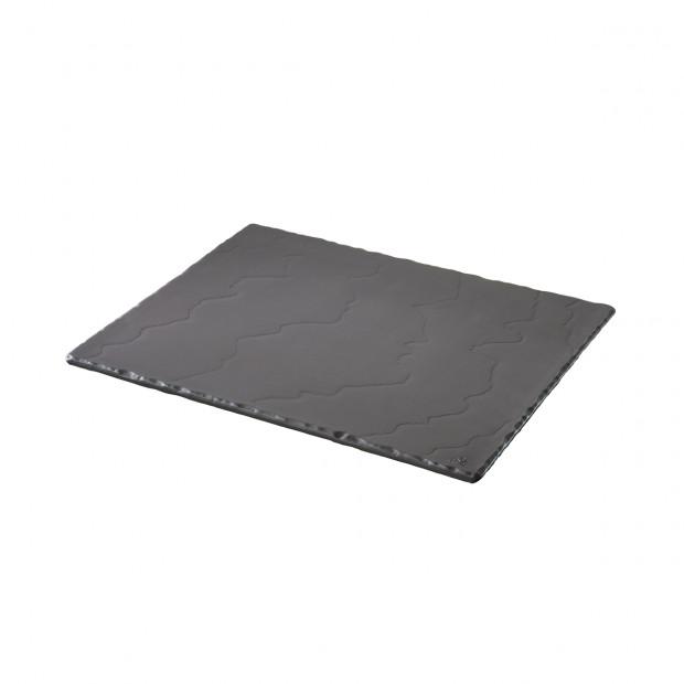 rectangular tray,1/2 gastro - black - 32.5 x 26.5