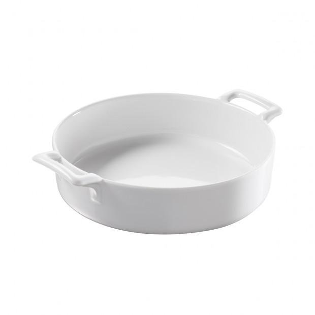 Deep round dish - Diam. 18.5 cm H. 5.5 cm