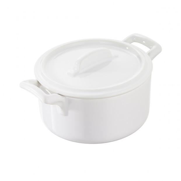cocotte with lid 7 oz, round - Diam. 10 cm