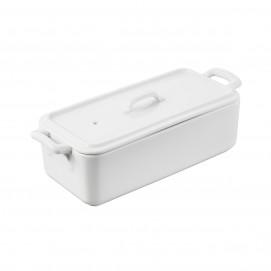 rectangular terrine with lid