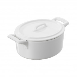 cocotte with lid with loop handle