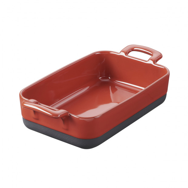 MILLIMI grey ceramic rectangular oven dish 1400ml 27,5х17,5х5,5cm