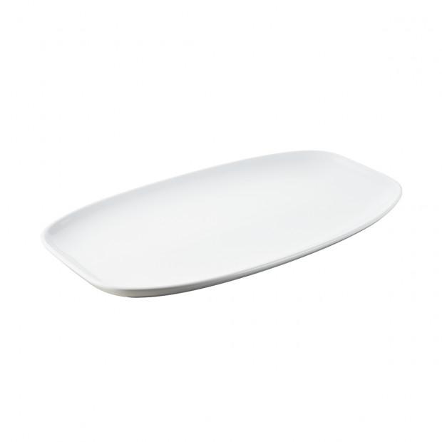 Assiette rectangulaire - 36 x 21 cm