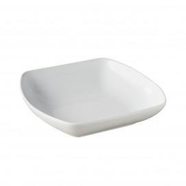 Assiette carrée creuse - 20 x 20 cm