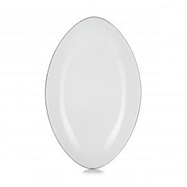 Assiette ovale - 34 cm