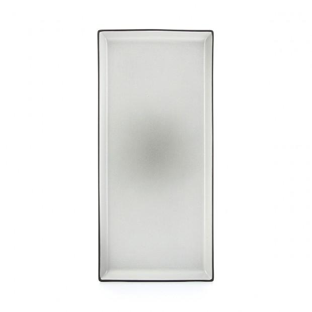 Assiette rectangulaire - 32.5 x 15 cm