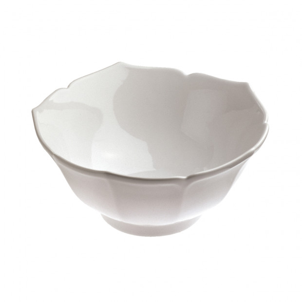 lotus flower bowl - white
