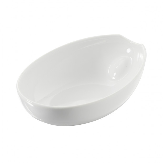 Plat ovale - Blanc