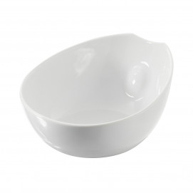 salad bowl - white