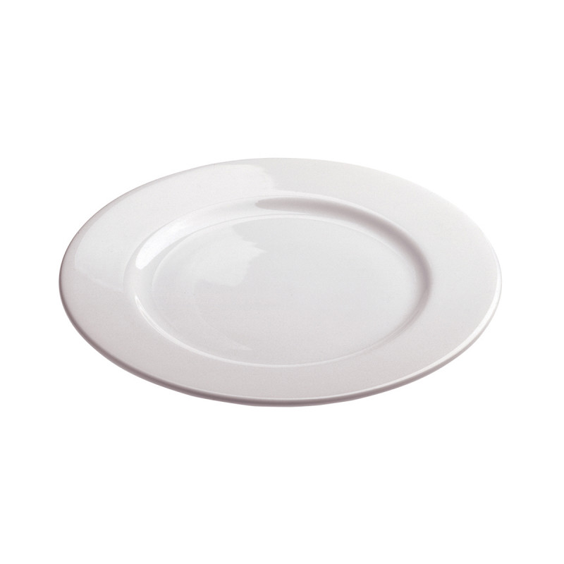 White Porcelain Dessert Plate Alaska