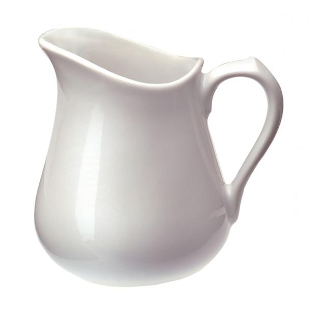 milk jug - white