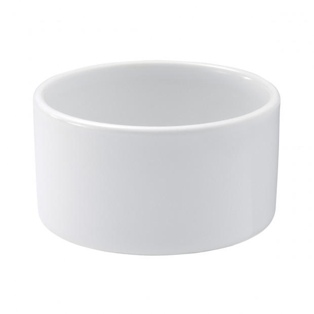 Plain ramekin - White