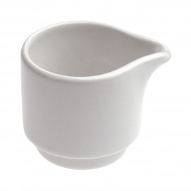 stackable creamer jug- white - Diam. 5 cm H. 4.5 cm