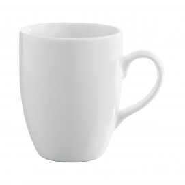 Mug Eva - Blanc - Diam. 8,3 cm H. 10,5 cm