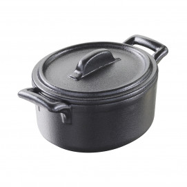 cocotte with lid
