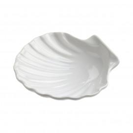 Mini scallop shell 2 cl - White - Diam. 7 cm H. 2 cm