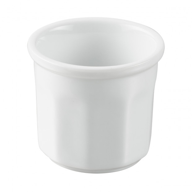 White Porcelain Mini Jam Pot