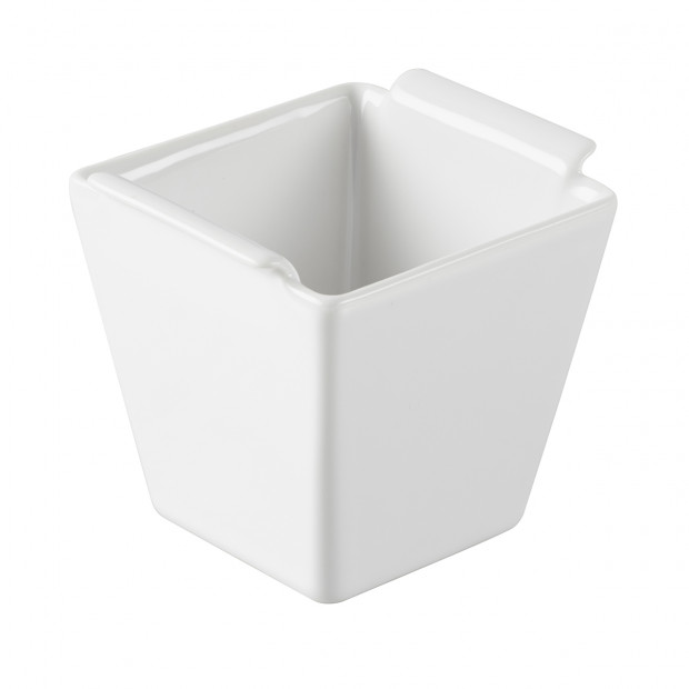 Petit pot à consommé - Blanc - 6 x 6 x 6 cm