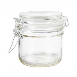Gourmet jar 20 cl - Glass - Diam. 8.3 cm H. 8.3 cm