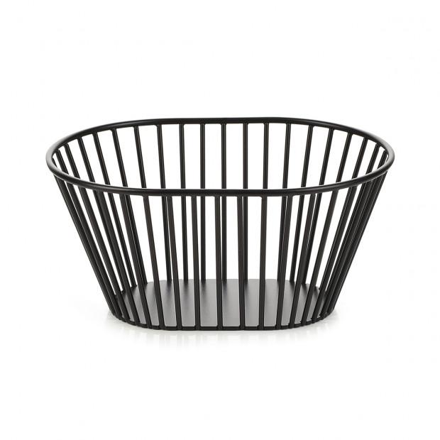 bread basket, oval
