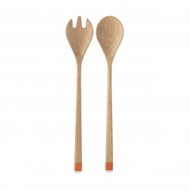 serving spoon & fork set
