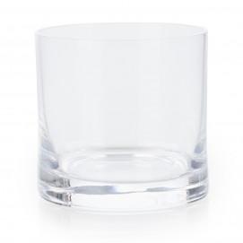 Round glass verrine