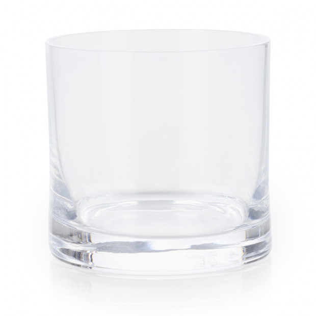 Round glass verrine