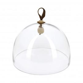 Large glass cloche, diameter 27 cm