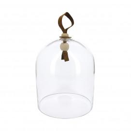 Glass cloche, diameter 18 cm