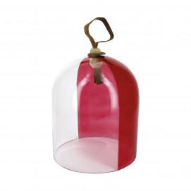 Cloche en verre diamètre 18 cm
