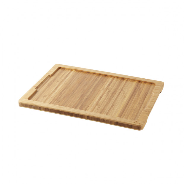 Tray for 33 x 24 cm Basalt stake plate - Bamboo - 37.5 x 28 x 2 cm
