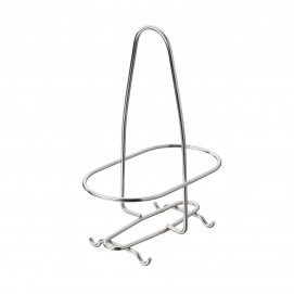 Oil / vinegar bottle stand - Stainless steel - 15 x 8.7 x 21 cm