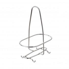 Support huilier/vinaigrier - Inox - 15 x 8,7 x 21 cm