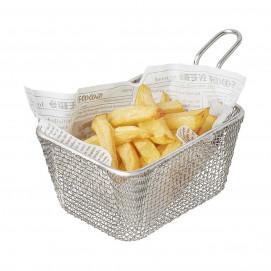 sachet frites - set de 1000 feuilles