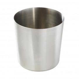 Chip pot - Stainless steel - Diam. 8.5 cm H. 8.5 cm