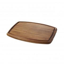 Rectangular plate - Acacia