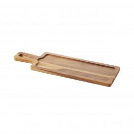 Board for 30 x 11 cm Basalt tray - Acacia - 43 x 14 x 1.5 cm