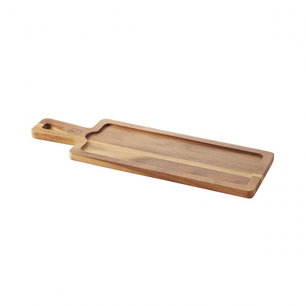 Planche pour plateau 30 x 11 cm Basalt - Acacia - 43 x 14 x 1,5 cm