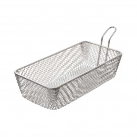 Long sandwich basket 1.70 L - Stainless steel - 24 x 12 X 6 cm