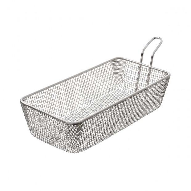 Long sandwich basket 1.70 L - Stainless steel - 24 x 12 X 6 cm
