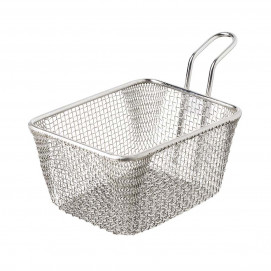 Potato basket 60 cl - Stainless steel - 14 x 11 x 8 cm