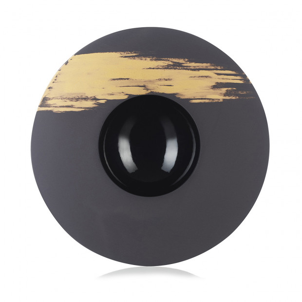 Sphere plate - Prestige- Diam. 30.3 cm H. 5 cm - 30 cl