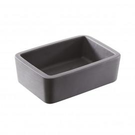 butter bloc reverso - black - 10.5 x 7.5 x 3.5 cm