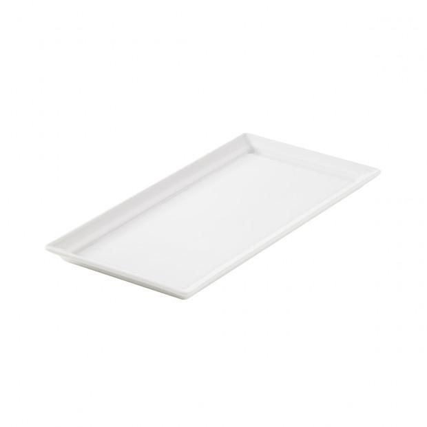 rectangular tray - 26.3 x 13 x 1.5 cm