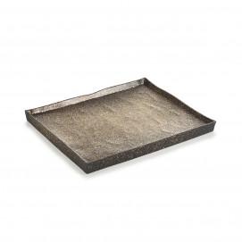 Assiette rectangulaire Solstice 21cm