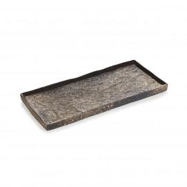 Assiette rectangulaire Solstice 30cm