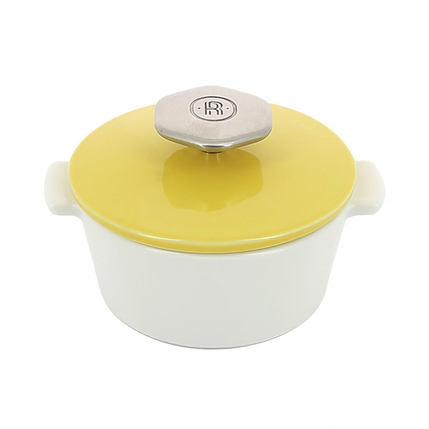 Round casserole dish 20 cl stainless steel handle - Diam. 10.5 cm H. 7,7 cm - Oven and table