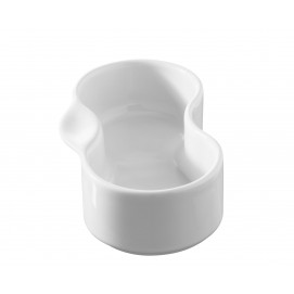 Ravier duo - Blanc - 13 x 6,5 x 3,5 cm